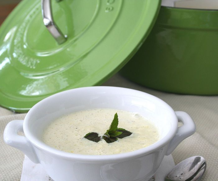 Chilled Zucchini Soup and a Martha Stewart Review | Recipe
