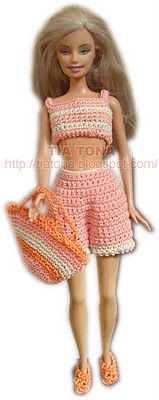 Crochet Stitches In Spanish : several free crochet patterns in spanish Barbie Pinterest