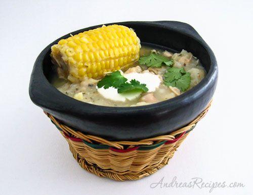 ... Meyers - Ajiaco Bogotáno--Columbian Chicken, corn and potato soup