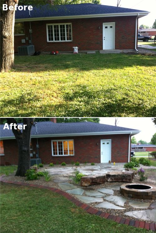 backyard patio makeover for the home pinterest