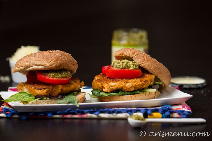 White Bean Burger With Rosemary And Sun-dried Tomatoes Recipe ...