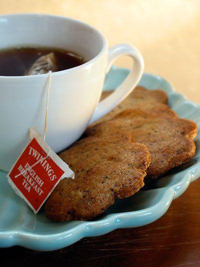 ... peppermint sable cookies aka ninjabread cookies earl grey tea cookies