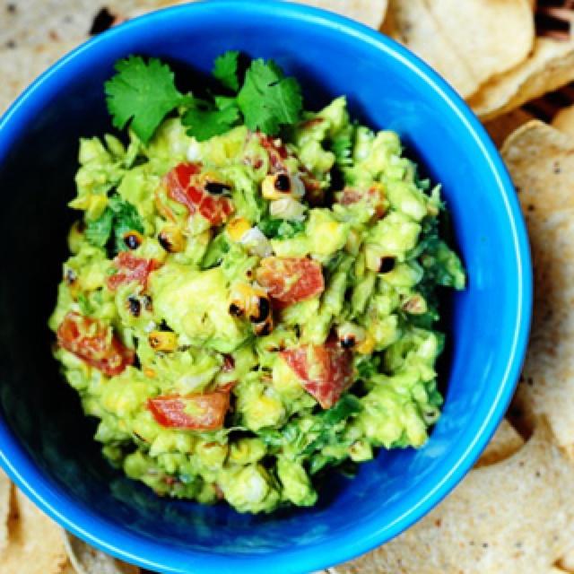 Grilled corn guacamole - thepioneerwoman | Good Eats | Pinterest