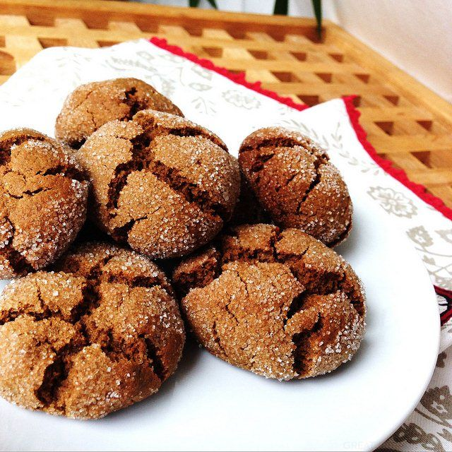 Ginger & Molasses Biscuits