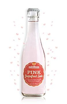 Pink Grapefruit Soda | Events : Refresh : Drink | Pinterest