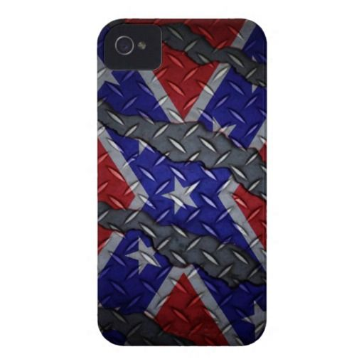 Scratched Metal Southern Pride! - iPhone 4/4s iPhone 4 Case-Mate Case