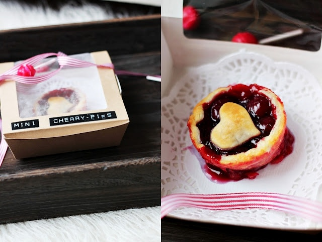 mini cherry pie | Food - Sweet | Pinterest