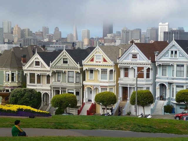 Painted Ladies San Francisco United States Pinterest