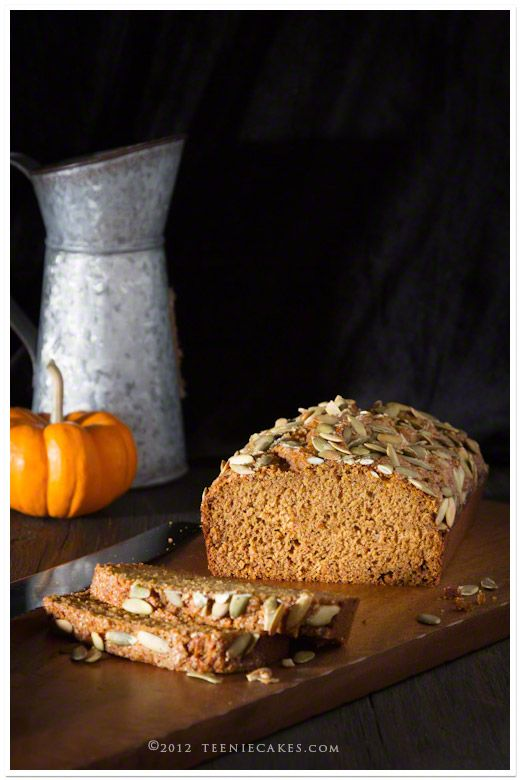 Olive Oil Pumpkin Bread with Pepitas