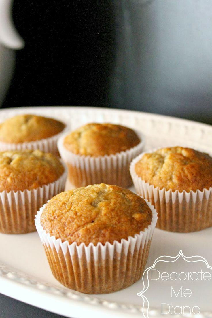 Easy Banana muffins | Yummy!! | Pinterest