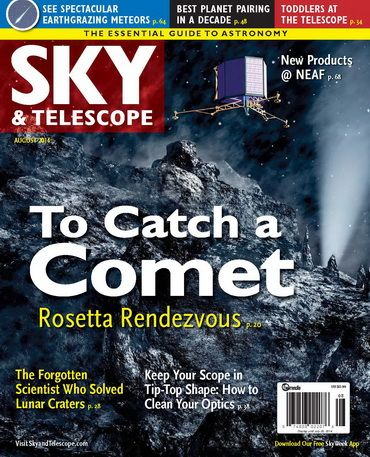 Sky Telescope August 2014