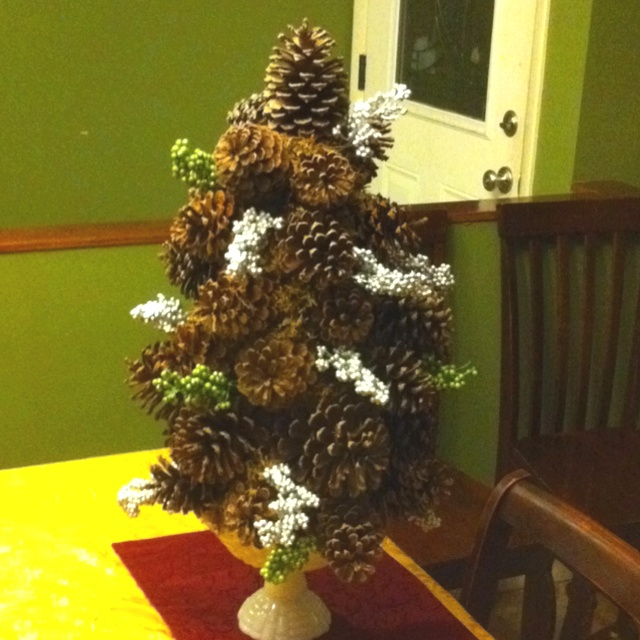 Pine Cone Trees Craft