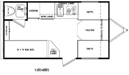 16 ft cozy travel trailer floor plan i am building a
