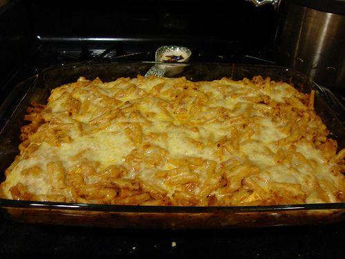Three Cheese Baked Ziti | Pasta Dishes | Pinterest