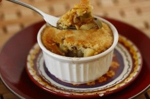Bacon Chickpea Potpies with Cornbread Crust---gotta try this someday