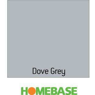 Kitchen and bathroom matt emulsion paint dove grey 75ml from