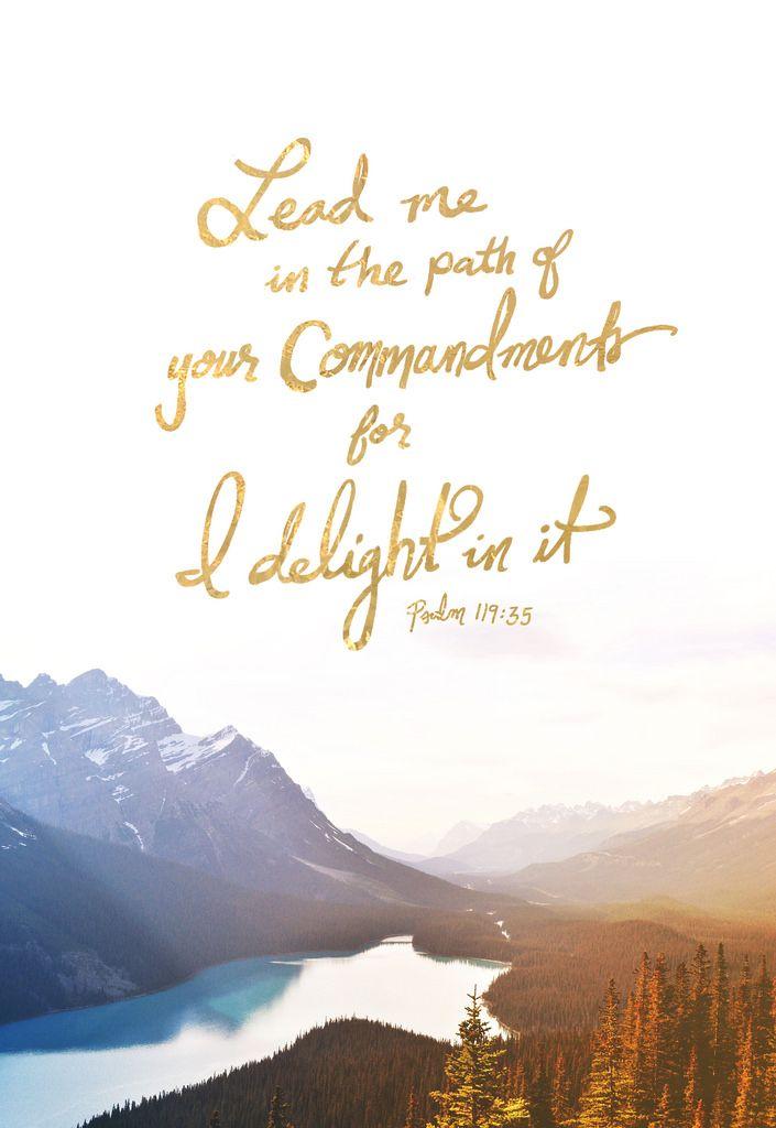 Psalm 119:33-35