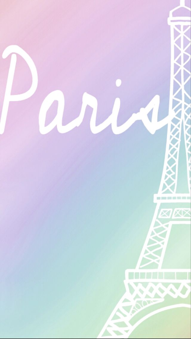 cute Paris Wallpaper :) iPhone Wallpapers Pinterest