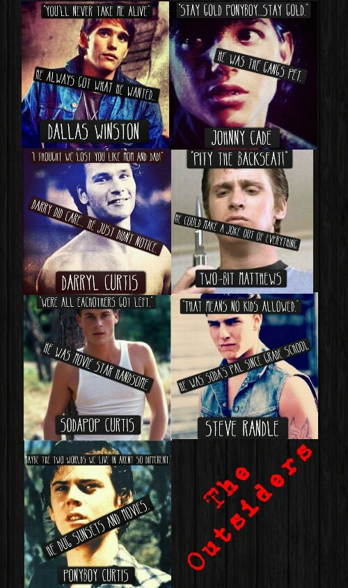 Famous Quotes From The Outsiders >> The Outsiders Cherry Quotes. QuotesGram