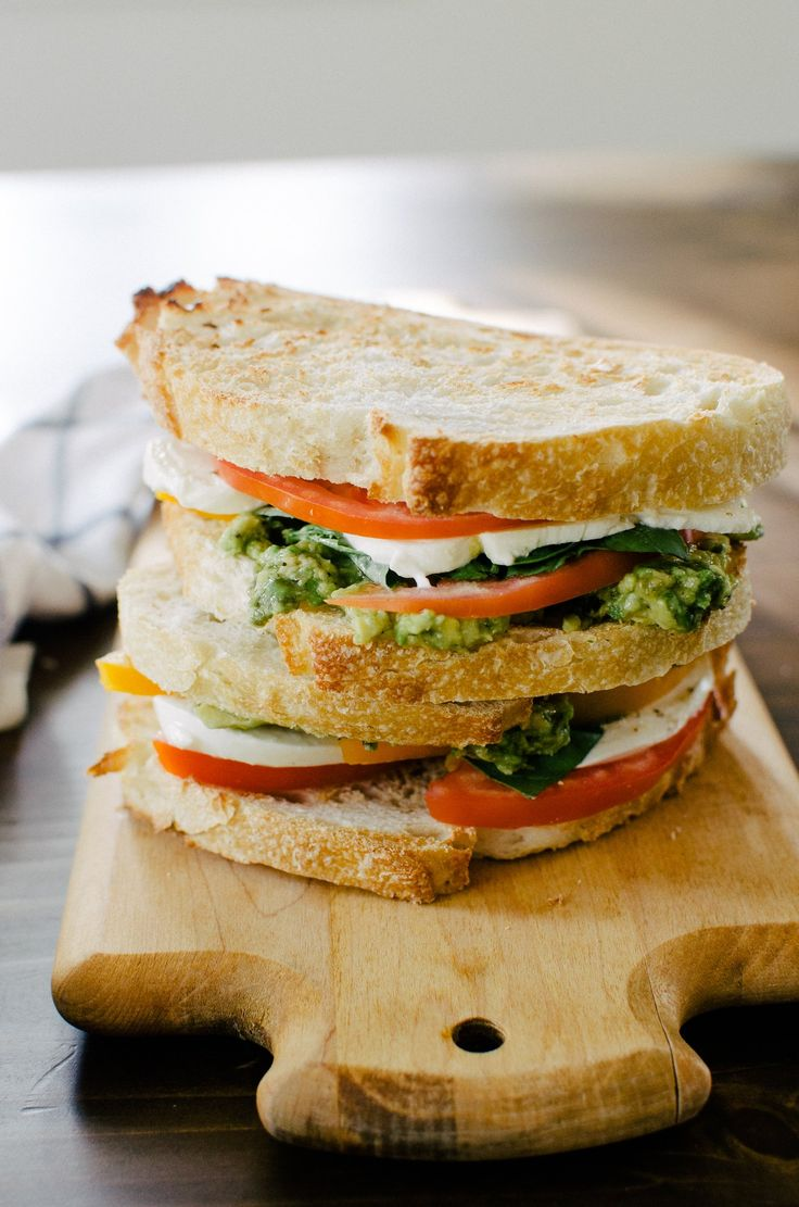 Mozzacado Sandwich   Recipe