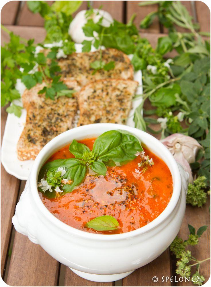 Roasted Tomato Soup Recipe .... | food ideas | Pinterest