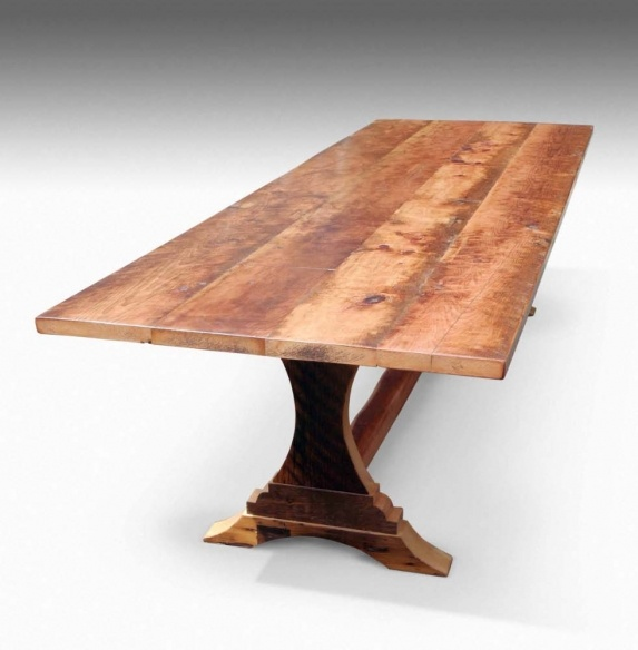 10 39 Reclaimed Barn Wood Dining Table This Is Mt Style But C Wants