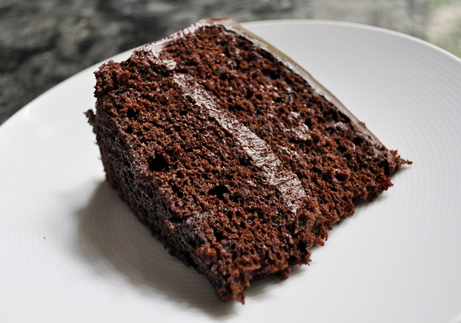 Epicurious' Double Chocolate Layer Cake