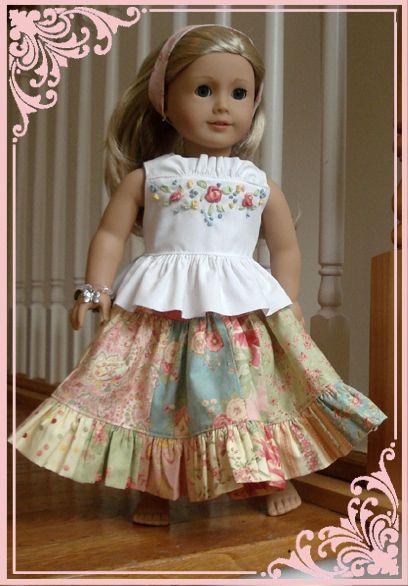 18 inch doll patterns | dolls | Pinterest