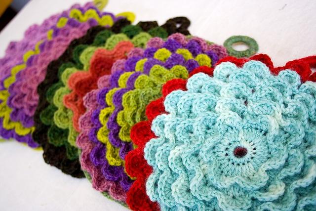 potholders_crochet Crochet Pinterest