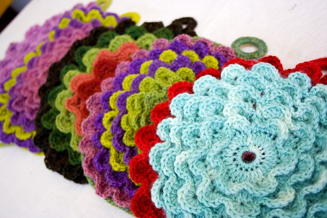 Crochet Potholders : potholders_crochet Crochet Pinterest