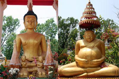 Ngoài tượng Phật chùa còn lưu giữ nhiều kinh sách cổ được viết trên lá cọ