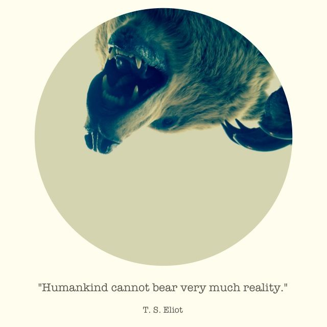 humankind cannot bear very much reality essay