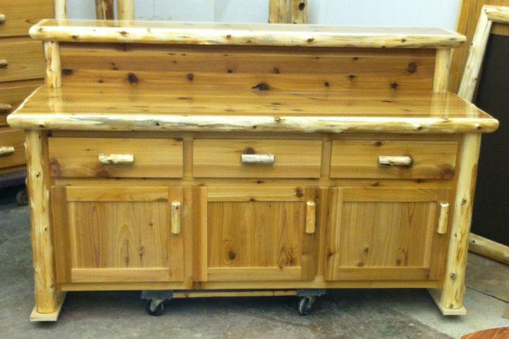 Cedar Log Bar The Log Furniture Store