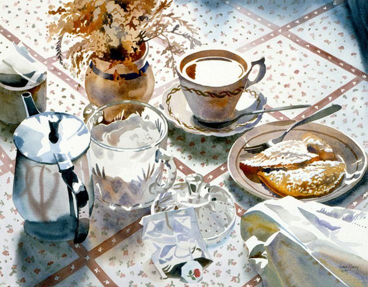Susan Avis Murphy — Winter Still Life  (800x623)