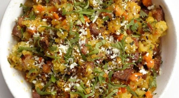 Aaron Sánchez's Chorizo and cornbread stuffing - a zesty and ...