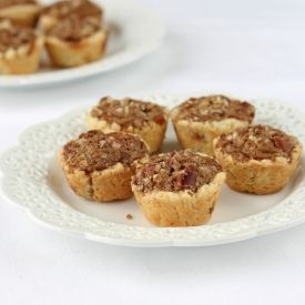 ... pecan pies with the best cream cheese crust! The perfect Fall treat