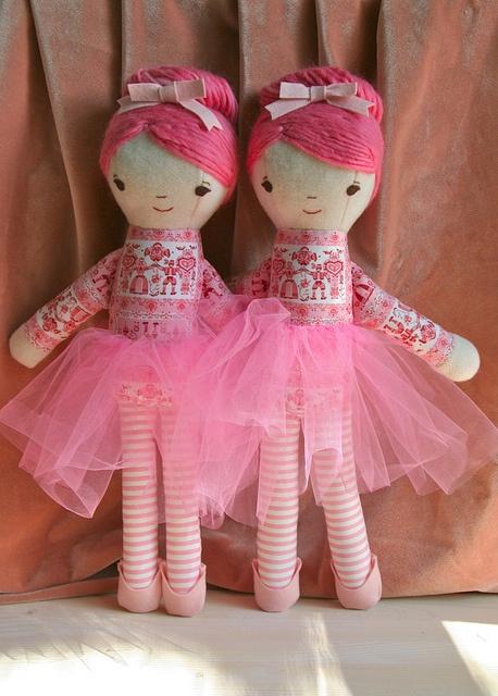Балерина близнецов Хиллари Ланг, через Flickr