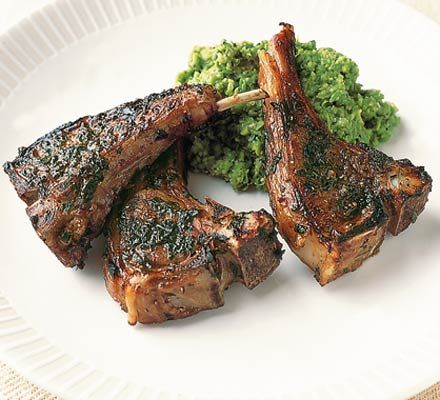 One of my favourite ways to cook lamb chops: Balsamic lamb chops
