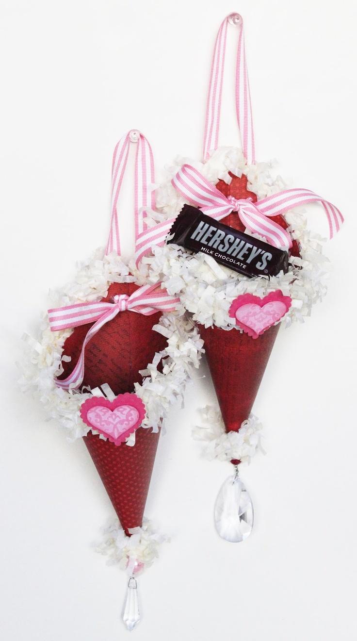 diy valentine's day treat bags