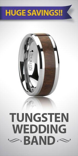 Wedding Bands Emporium Specialist in Tungsten and Ceramic Wedding ...