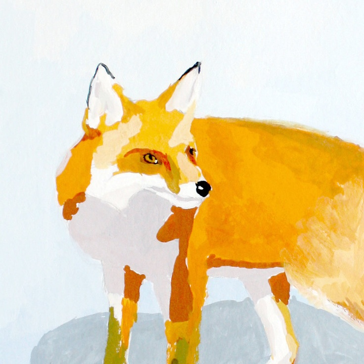 """Fox 1"" // Elizabeth Mayvile"