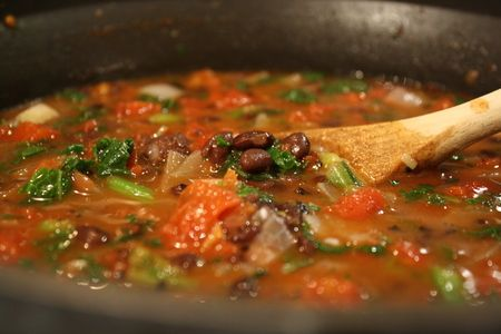 chipotle black bean & kale soup from @Stephanie Lane featuring Chile ...