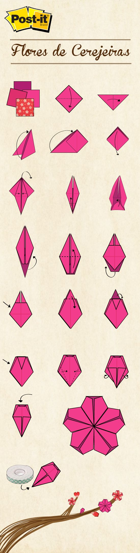 Как сделать тюльпан оригами маме к 8 марта? Схема 74