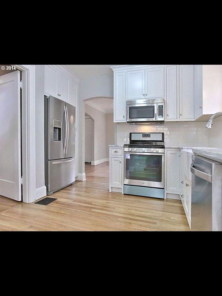 All White Kitchen Next House Pinterest