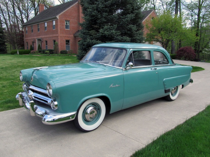 Pin 1952 ford mainline business coupe pictures on pinterest for 1954 ford mainline 2 door sedan sale