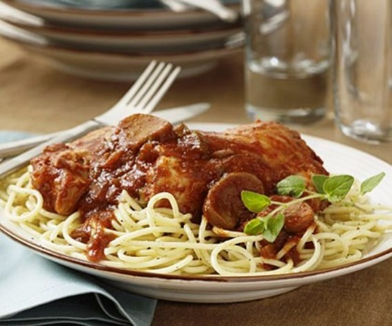 Slow-Cooker Chicken Cacciatore | SLOW COOKER | Pinterest