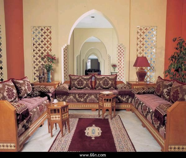 Middle Eastern Interior Furniture