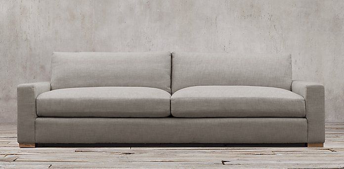 maxwell sofa restoration hardware 7 10 foot lengths