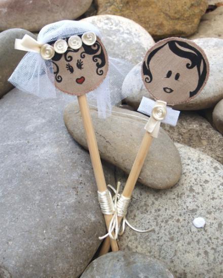 novios decorativos para bodas