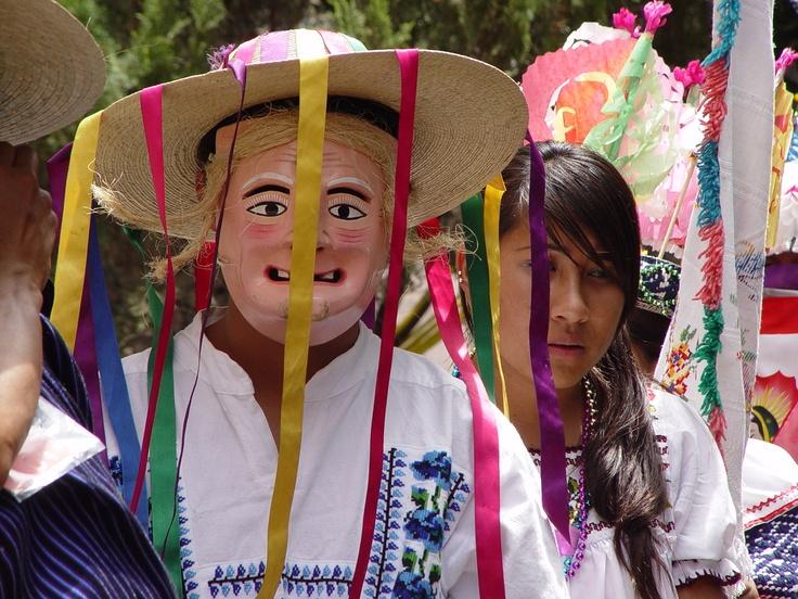 Máscaras de Michoacán. Danza de los Viejitos, originaria de la Región Pátzcuaro.